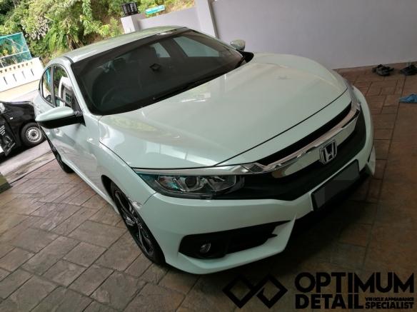 Opti-Coat™Pro : Honda Civic Turbo | Optimum Auto Detailing