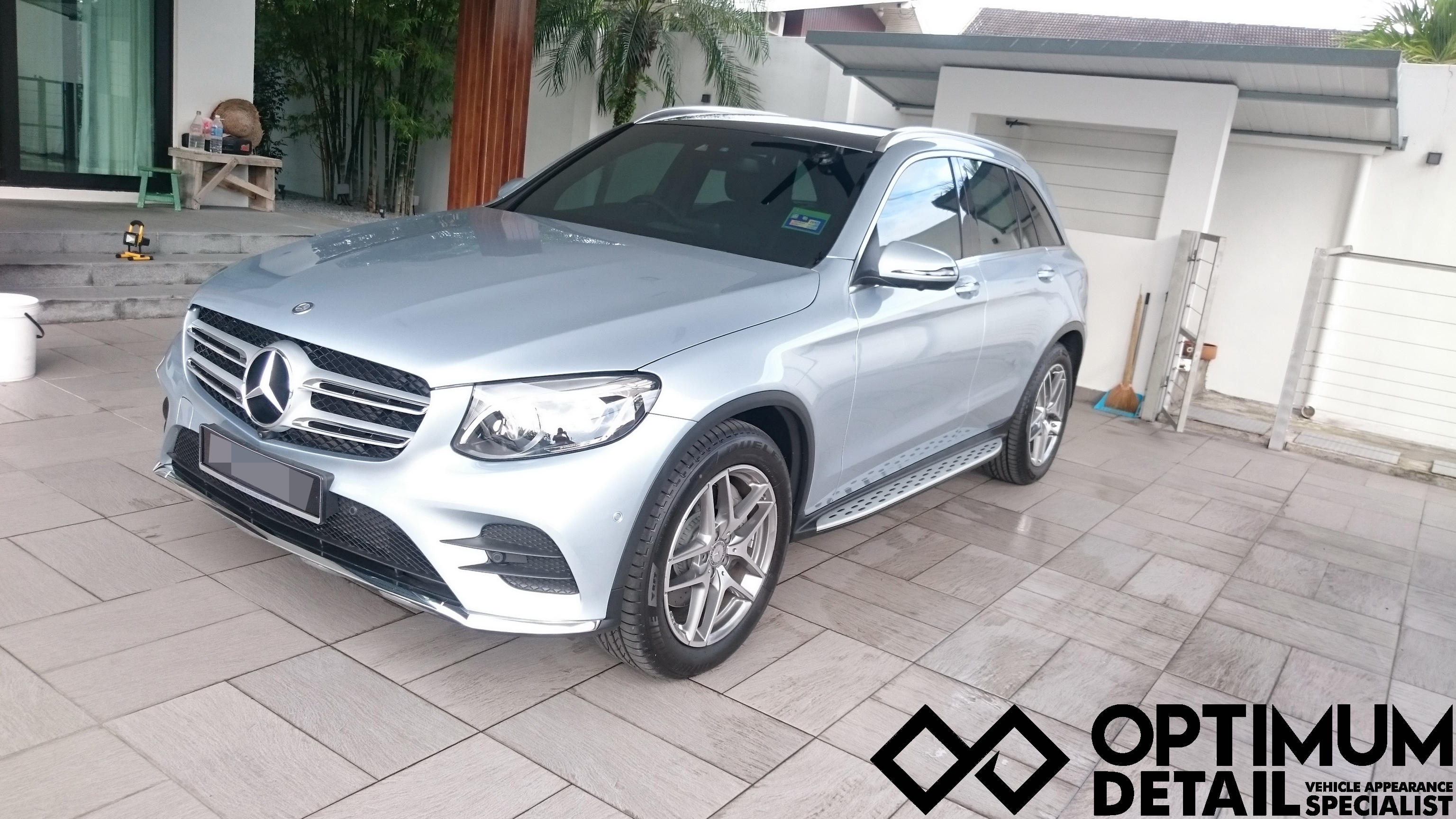 Car sticker design ipoh - We Have With Us A Mercedes Glc Brand New From The Dealership The Owner Of The Car Brought The Car Back From The Dealership And Parked It Till We Got Here A